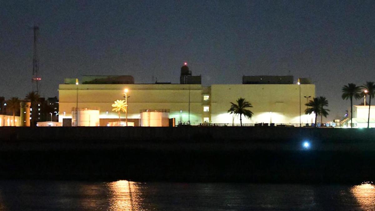 Tấn công rocket gần đại sứ quán Mỹ tại Baghdad