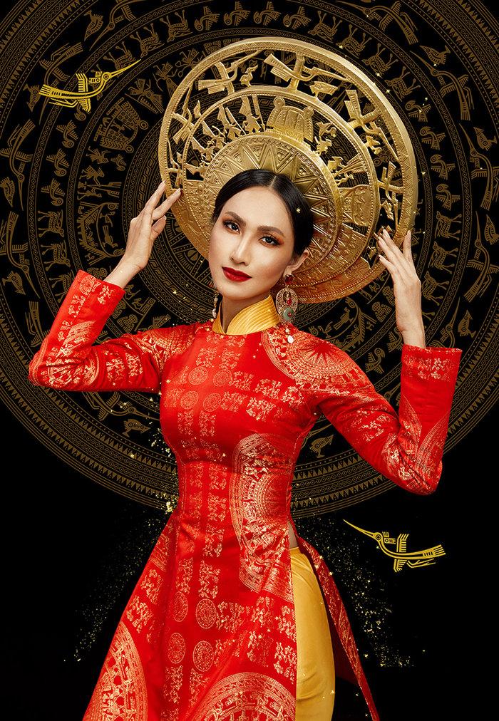 Miss International Queen 2020: Hé lộ bộ ảnh tuyệt đẹp của Hoài Sa trong trang phục dân tộc - 5
