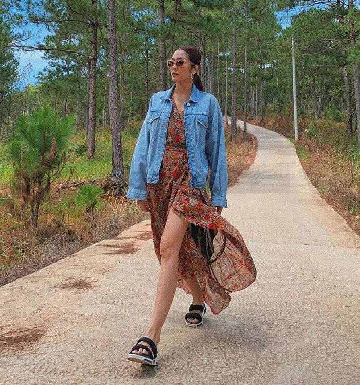 Tăng Thanh Hà, Song Hye Kyo ưu ái sandal đế thô, tưởng không đẹp ai ngờ đẹp không tưởng - 2