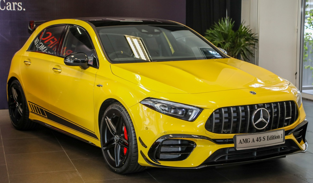 Ra mắt Mercedes-AMG A45 S 4Matic Edition 1, sản xuất giới hạn 20 xe - 1