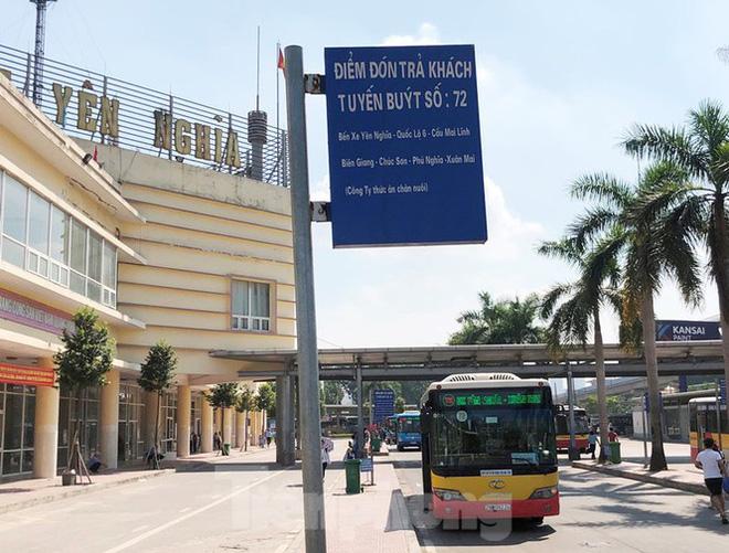 Cận cảnh tuyến xe buýt doanh nghiệp 'dọa' dừng hoạt động ở Hà Nội - 5