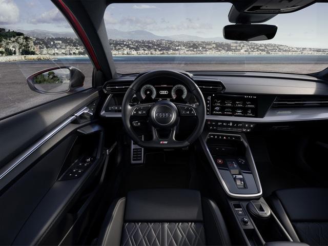 Ra mắt Audi S3 mới: Bản A3 mạnh nhất với 306 mã lực, 0-100 km/h trong 4,8 giây - 5