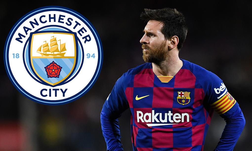 Messi có thể đàm phán với Man City từ tháng 1/2021