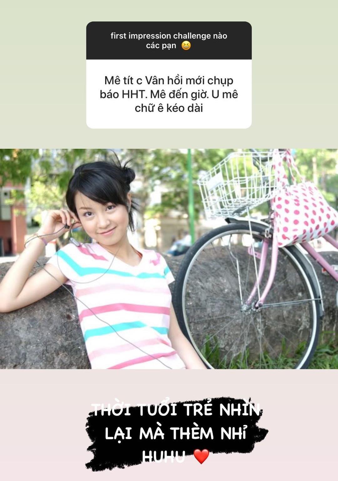 Mi Vân khoe ảnh thời trẻ, khẳng định đẳng cấp của ' tượng đài làng hot girl' - 2