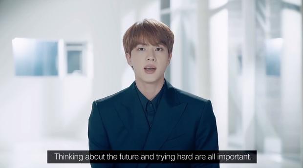 BTS phát biểu ở LHQ trước 40 quốc gia, chạm đến triệu trái tim với thông điệp: 'Nếu tôi bỏ cuộc lúc này, tôi sẽ không thể trở thành ngôi sao của đời mình' - 5
