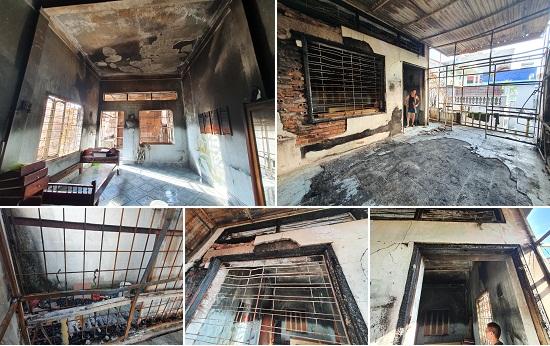 Điều tra vụ cháy nhà nghi do hàng xóm đốt vàng mã - 1