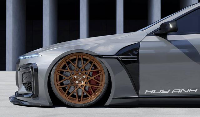 Designer Việt thiết kế VinFast Lux A2.0 như siêu xe: 'Mercedes có AMG, BMW có M, còn VinFast có thể cần thứ này đây' - 6
