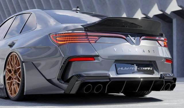 Designer Việt thiết kế VinFast Lux A2.0 như siêu xe: 'Mercedes có AMG, BMW có M, còn VinFast có thể cần thứ này đây' - 7