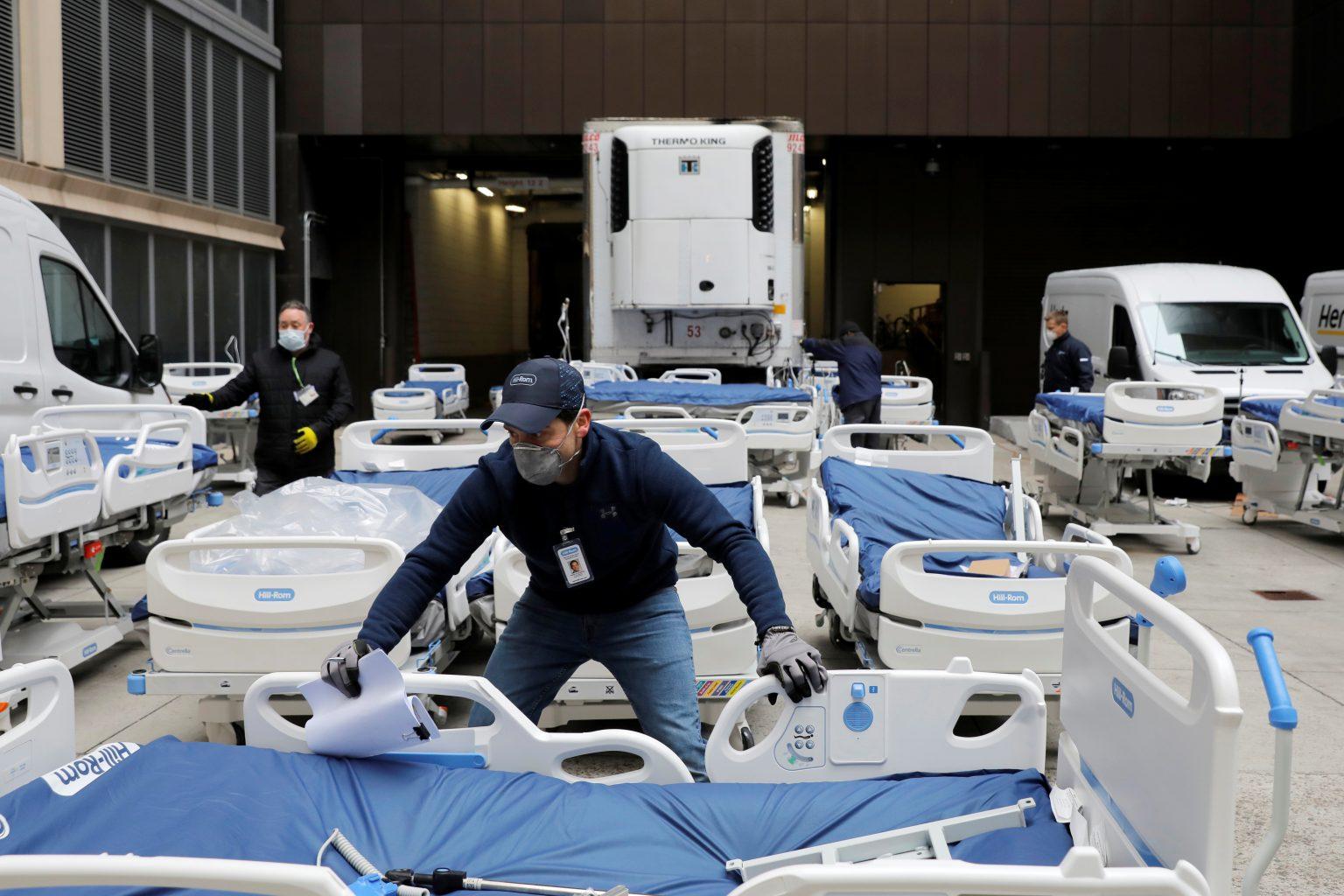 Mỹ ghi nhận số ca nhiễm Covid-19 tăng kỷ lục trong một ngày