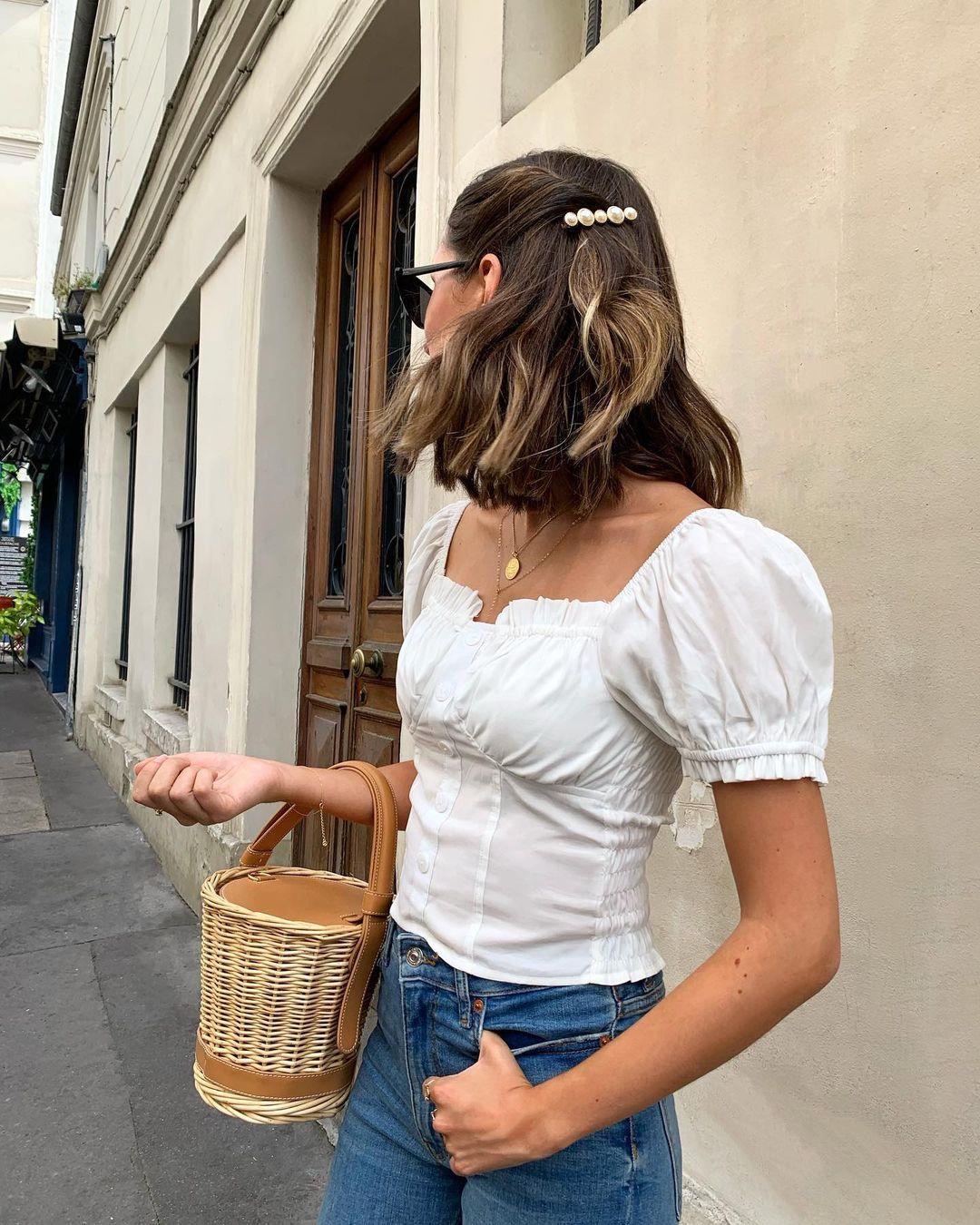 Gái Pháp tóc ngắn không suốt ngày xõa xượi mà có đến 6 cách tạo kiểu đẹp và sang ngây ngất
