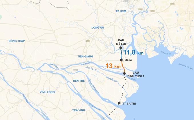 Mở đường ven biển từ Sài Gòn đi dọc miền Tây