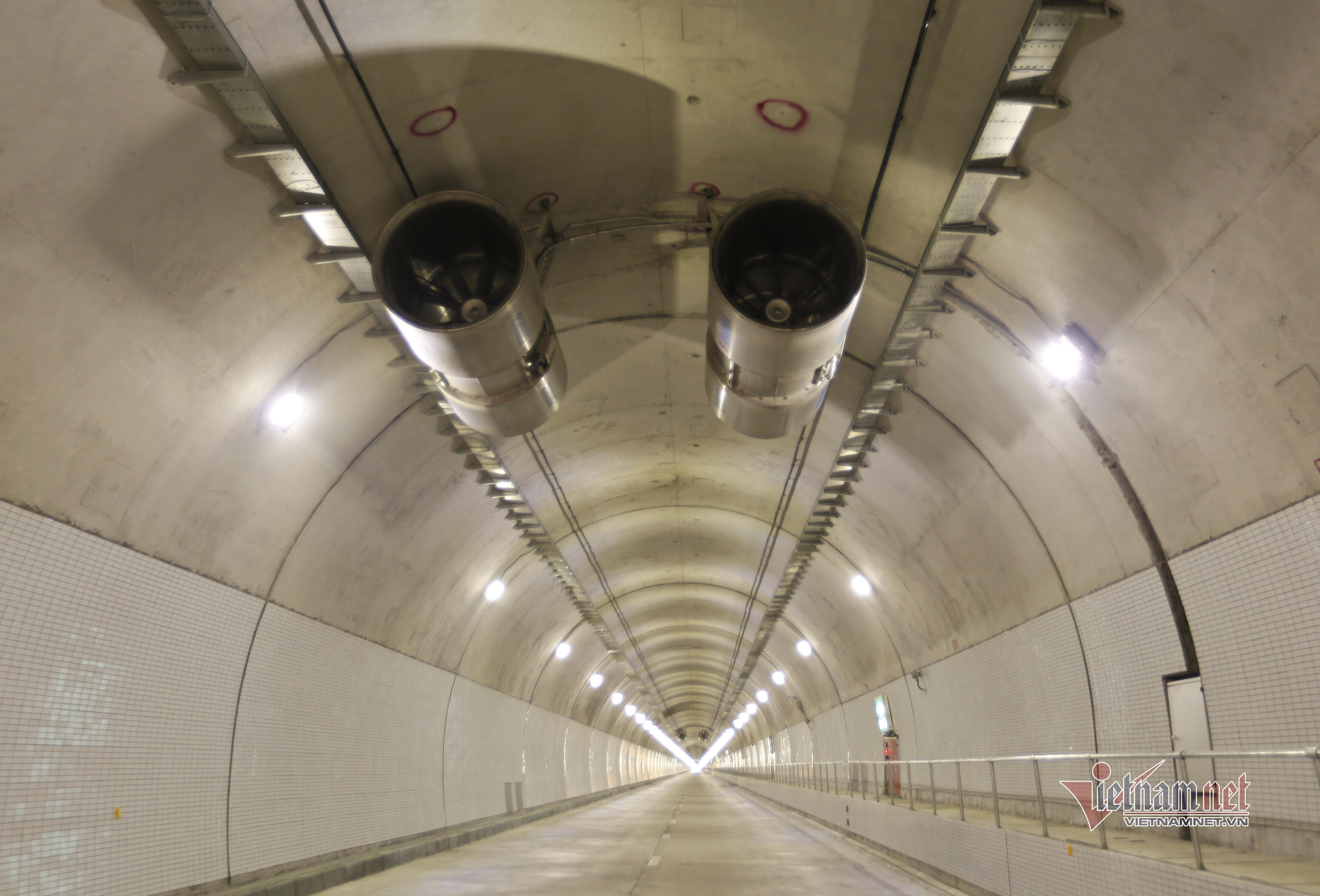 Bên trong hầm đường bộ dài nhất Đông Nam Á vừa khánh thành - 5