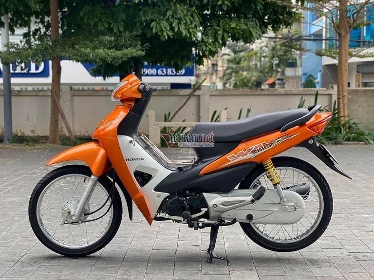 Honda Wave Alpha cũ biển số ngũ quý giá gần 100 triệu đồng - 1