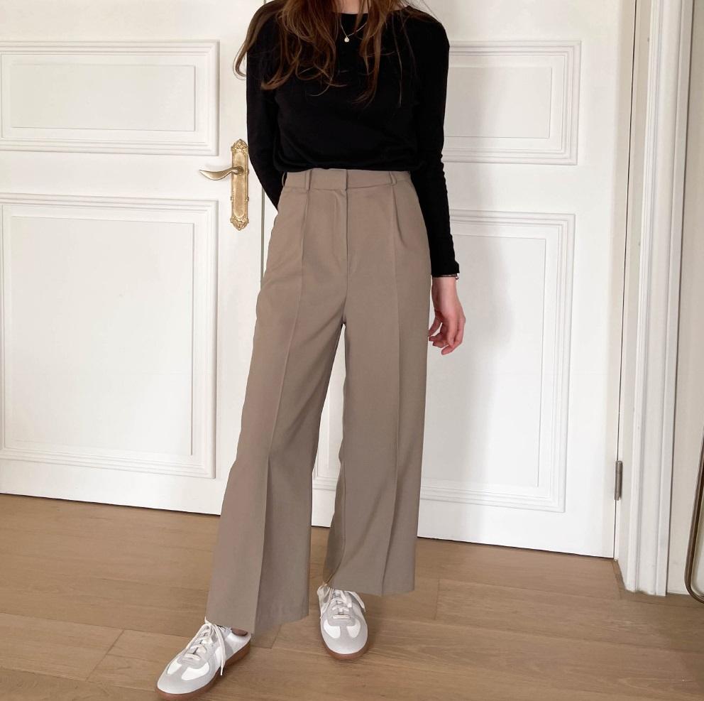6 bộ đôi quần dài + giày dép gái Hàn chăm diện nhất, ngán váy vóc thì chị em nên ghim ngay - 8