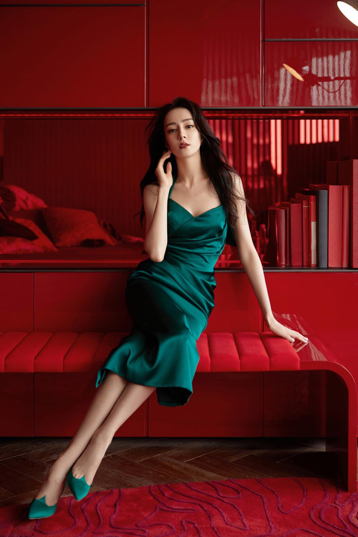 Địch Lệ Nhiệt Ba khoe nhan sắc say đắm trong bộ ảnh mới - 2