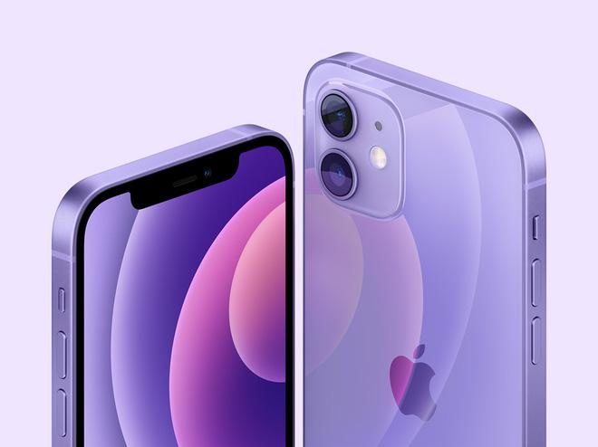 Mới: Apple ra mắt iPhone 12 màu tím, giá dễ chịu