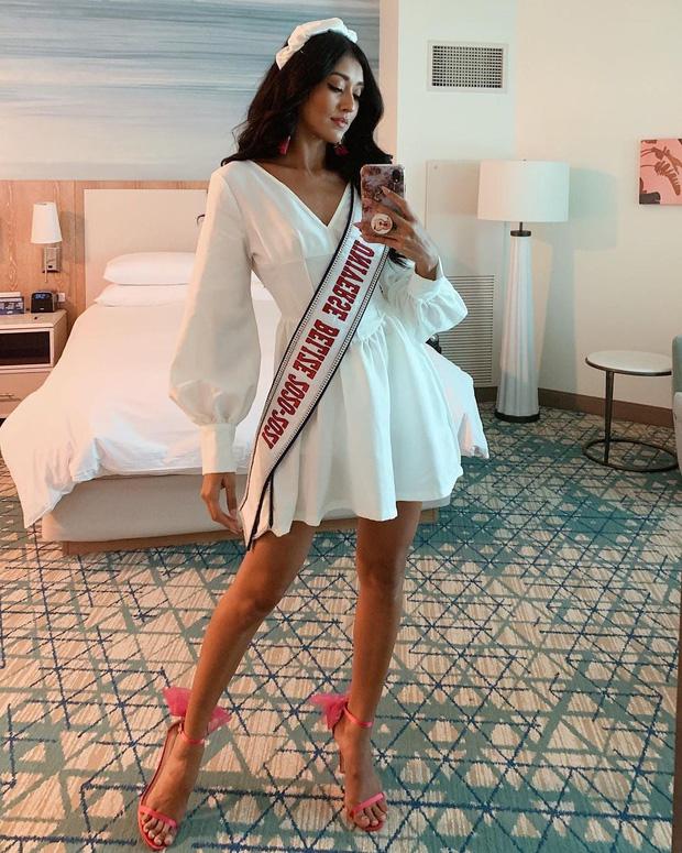 Khánh Vân liên tục ghi điểm với outfit màu nổi, khoe vòng 1 căng đầy cùng thần thái 'đỉnh chóp' trong ngày 2 nhập cuộc Miss Universe - 6