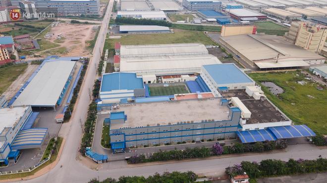 Cận cảnh phong toả công ty Hosiden - 'ổ dịch' hơn 200 ca Covid-19 ở Bắc Giang - 4