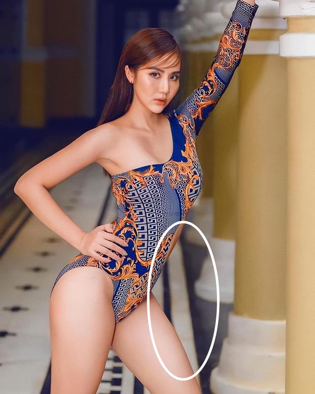 Huyền Lizzie đăng ảnh bikini khoe trọn thân hình gợi cảm, netizen chỉ chú ý đến chi tiết gạch bị méo - 3
