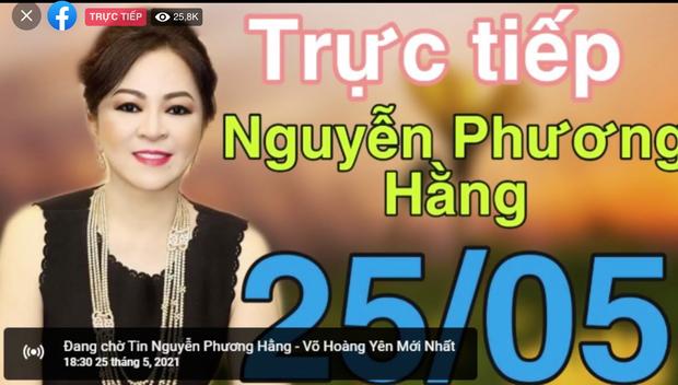 Hơn 300k người xem, bà Nguyễn Phương Hằng phá kỷ lục livestream Việt Nam trên Facebook - 3