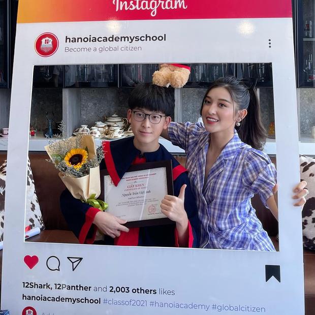 Em trai Á hậu Huyền My học trường quốc tế học phí khủng, vừa tốt nghiệp cấp 3 soi ra thành tích đáng nể - 3