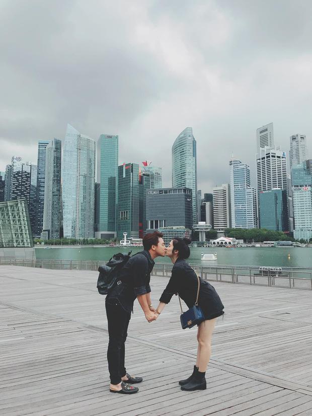 Hé lộ ảnh hẹn hò hiếm hoi lúc mới yêu của Hoà Minzy và chồng thiếu gia: Đôi chim cu ríu rít, khoá môi ngọt phát ghen! - 2
