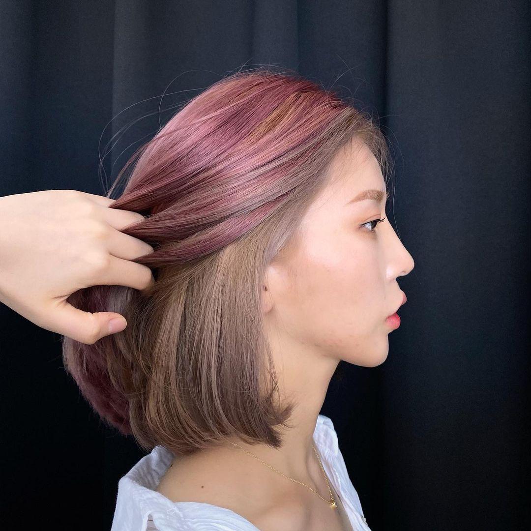 Kiểu tóc nhuộm nửa đầu nhìn không hề 'hư hỏng': Ghim ngay để hết dịch là đặt lịch làm tóc - 5