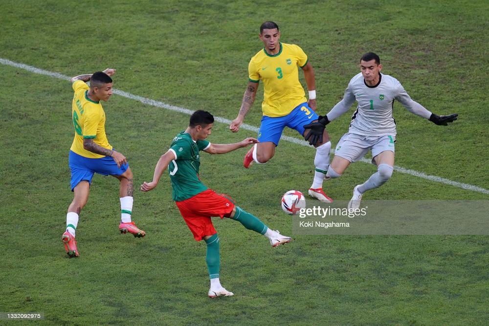 'Hủy diệt' Mexico trên chấm luân lưu cân não, Brazil vào chung kết Olympic 2020 - 2