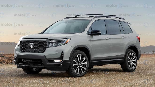 Honda Passport 2022 sắp ra mắt - Đối thủ tiềm năng của Hyundai Santa Fe và Kia Sorento