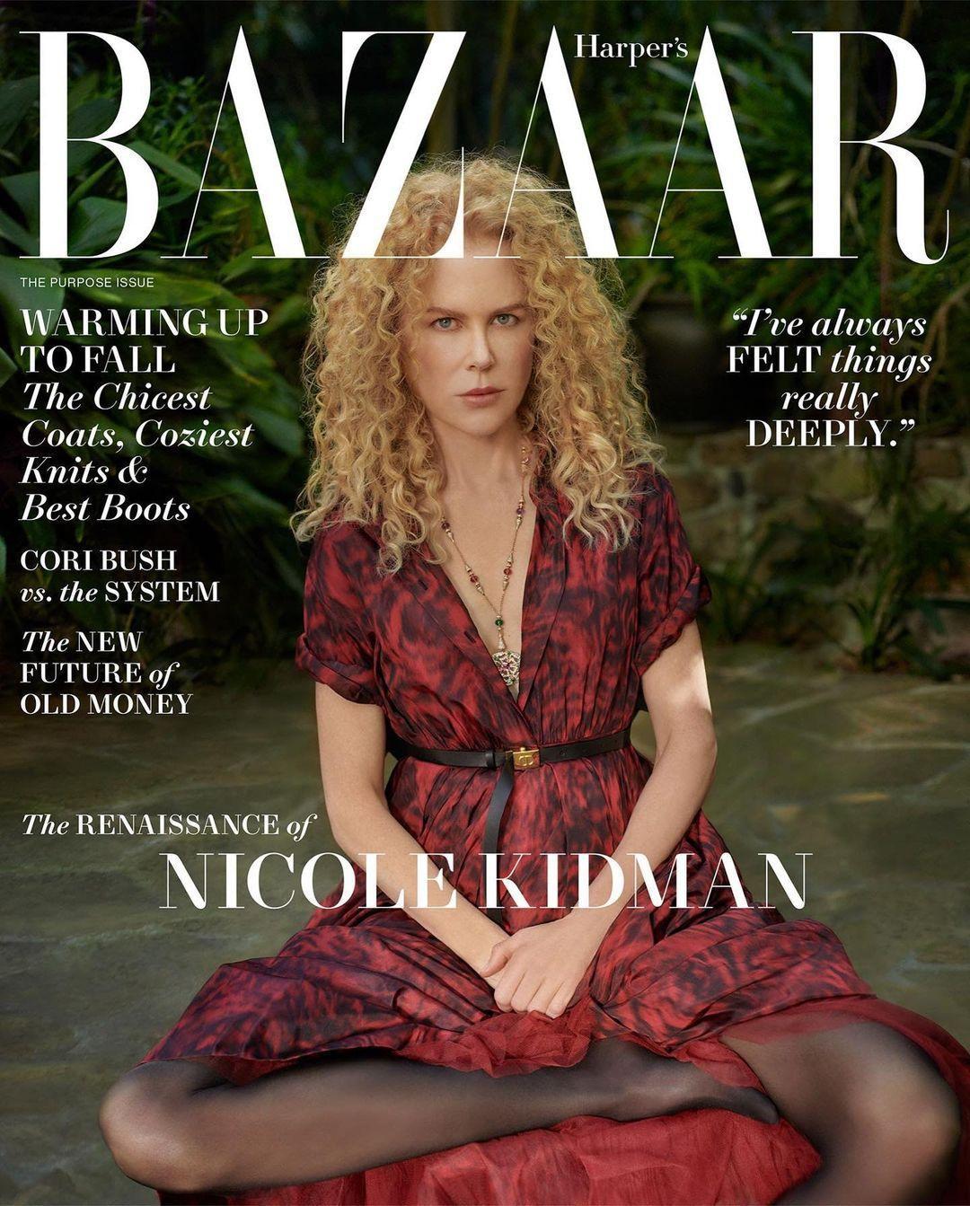 Nicole Kidman khoe ngực trần nóng bỏng trên tạp chí, chia sẻ hiếm hoi về chồng cũ Tom Cruise - 2