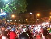 28 cảnh sát bị thương, người quá khích lại gây rối ở UBND Bình Thuận