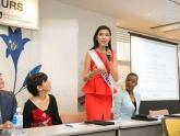 Thúy Vân khoe dáng với bikini, được đánh giá cao tại Hoa hậu Quốc tế 2015