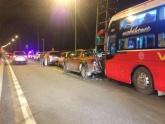 Tai nạn liên hoàn trên cao tốc Long Thành - Dầu Giây