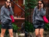 Kể từ khi chia tay bạn trai da màu, Katie Holmes - vợ cũ Tom Cruise thường gây chú ý với phong cách trẻ trung