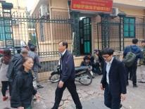Phiên xử Đinh La Thăng: Ông Phùng Đình Thực đi bộ rời tòa sau tuyên án
