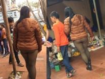 Mặc 'nhầm' quần khi đi chùa, cô gái bị dân mạng 'ném đá' dữ dội