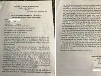 Cô giáo phải quỳ xin lỗi phụ huynh tường trình những gì?