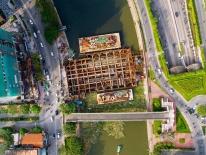 Chùm ảnh: Toàn cảnh sự 'bất động' của loạt công trình chống ngập ở Sài Gòn vì... thiếu vốn, không còn bóng công nhân