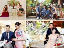 Khoảnh khắc đón Tết cùng nhau của các cặp đôi Sao Việt: 'Mỗi cây mỗi hoa, mỗi nhà mỗi cảnh'