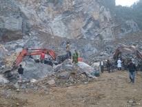 Nghệ An: Sập hầm ở mỏ thiếc, 3 người thương vong