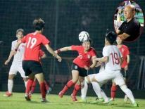 HLV Park Hang Seo đi xem bóng đá nữ, hát quốc ca Việt Nam và Hàn Quốc