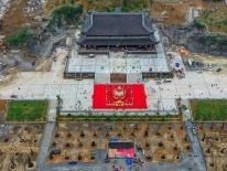Video: Chùa Tam Chúc chuẩn bị đón 20.000 khách dự đại lễ Phật Đản