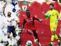 Đối đầu Liverpool vs Tottenham: The Kop áp đảo