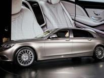 Mercedes-Maybach S600 hút giới nhà giàu Trung Quốc