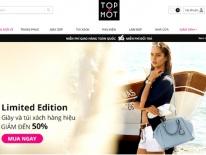 Website bán hàng hiệu giảm giá Top Mốt đóng cửa