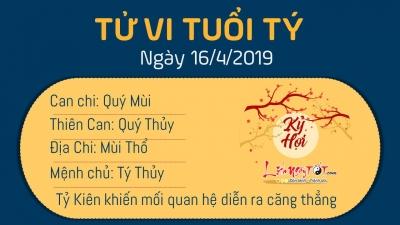 Tử vi thứ 3 ngày 16/4/2019 của 12 con giáp: Ngọ được Thiên Tài che chở, Tý mâu thuẫn với đồng nghiệp