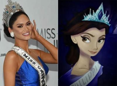 """Hoa hậu Hoàn vũ 2015 bị đồn tham gia phim """"Frozen 2"""" - 1"""