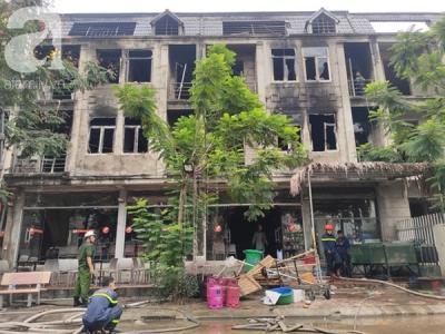 Lời kể của người chứng kiến đám cháy ở Thiên đường Bảo Sơn: 'Ngọn lửa to quá, tôi thấy 3 người nhảy từ lan can tầng 2 xuống đất'
