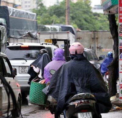 Hà Nội: Chùm ảnh đường Cầu Bươu tắc kinh hoàng từ sáng sớm đến trưa - 6