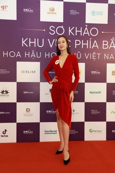 Sơ khảo phía Bắc của Hoa hậu Hoàn vũ 2019: Nhiều thí sinh nổi bật, sở hữu thân hình và khuôn mặt 'chuẩn' Hoa hậu - 12